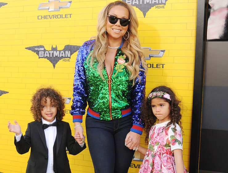 Mariah Carey with kids