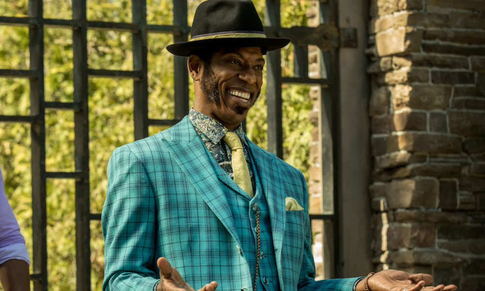 Orlando Jones as Mr. Nancy on American Gods
