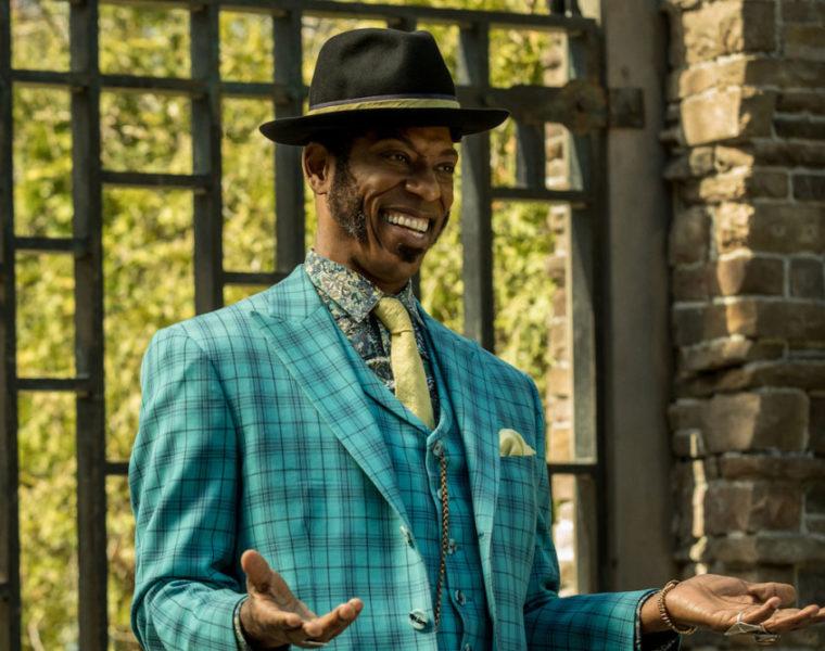 Orlando Jones as Mr. Nancy on American Gods