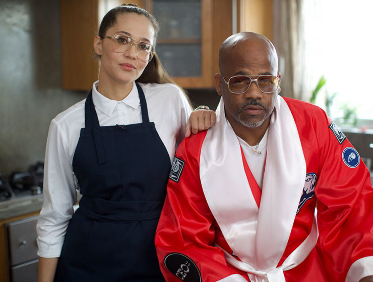 Raquel Horn with Dame Dash