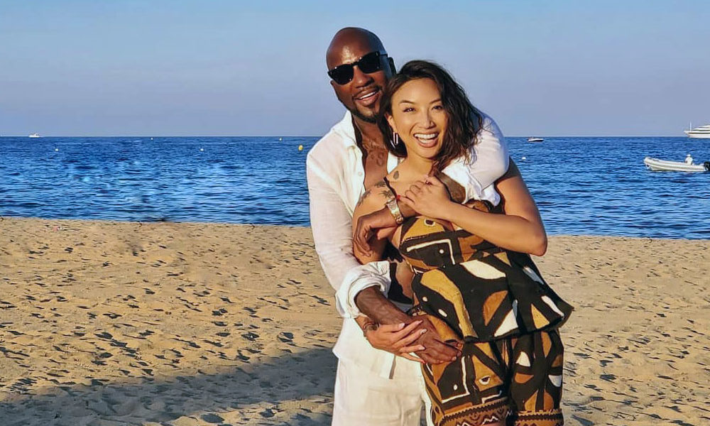 Young Jeezy with Jeannie Mai