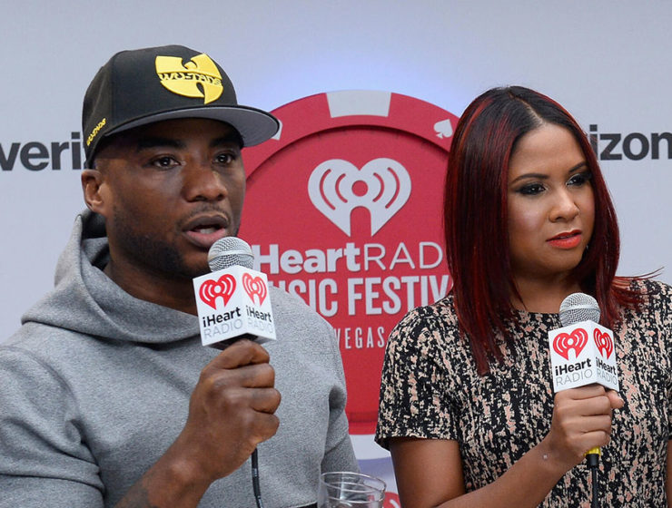 Angela Yee and Charlamagne Tha God