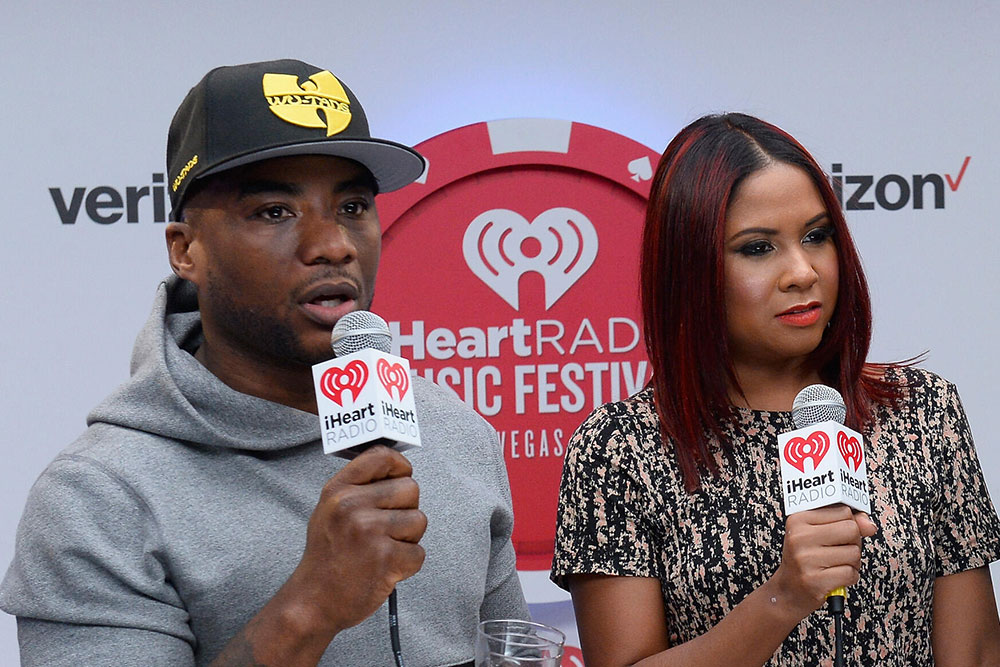 Charlamagne Tha God and Angela Yee