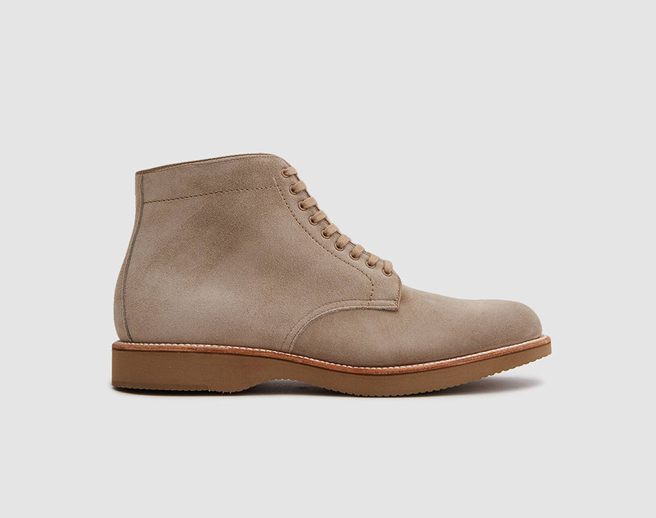 Colonial Plain Toe Boot