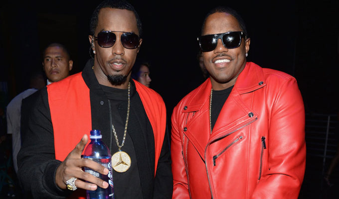 Sean 'Diddy' Combs with Mase