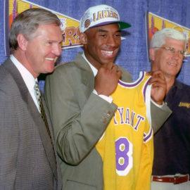 Kobe Bryant becomes a Laker