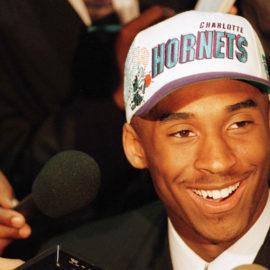 Kobe Bryant at 1996 NBA draft