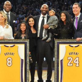 Kobe Bryant jersey retirement