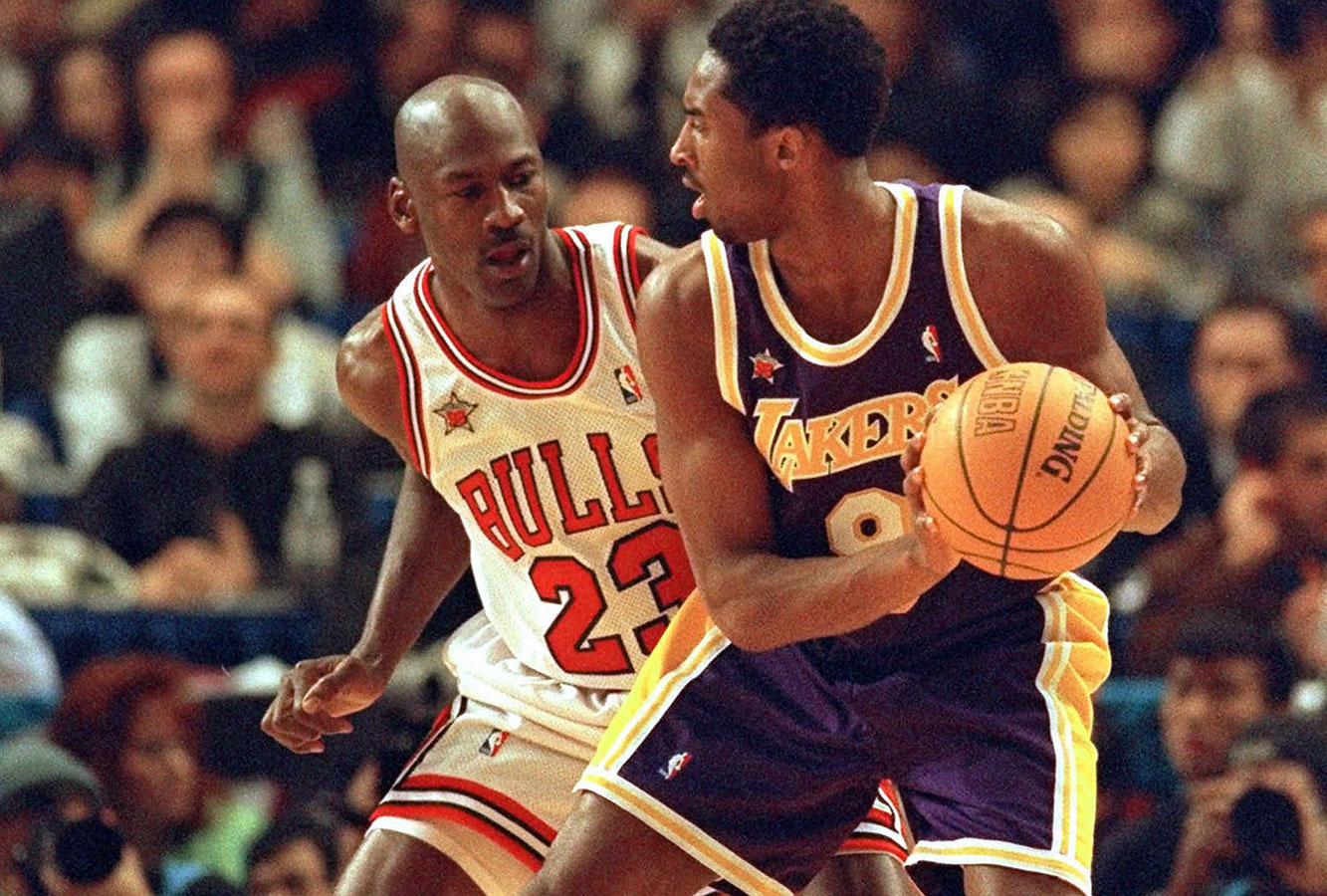 Michael Jordan, Kobe Bryant face-off