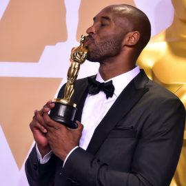 Kobe Bryan wins an Oscar