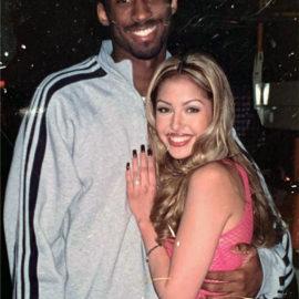 Kobe Bryant with future wife, Vanessa