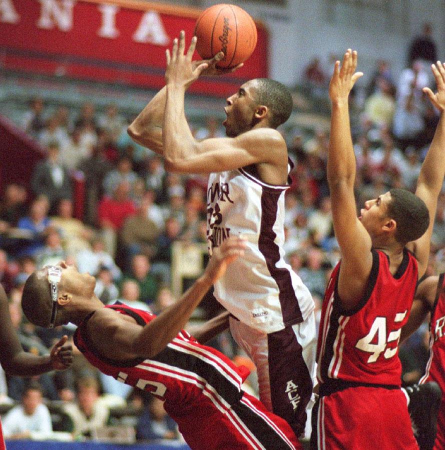 Kobe Bryant in 1995 high school playoff