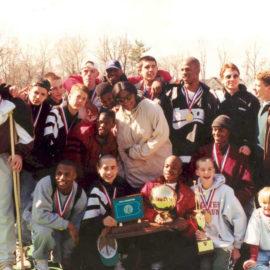 Kobe Bryant with high school teammates