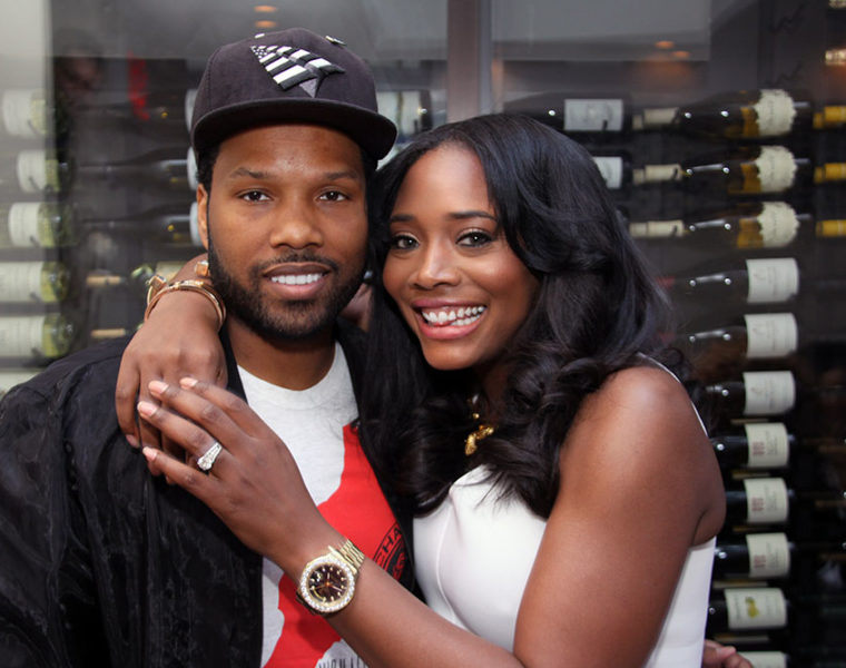 Mendeecees Harris with Yandy Smith