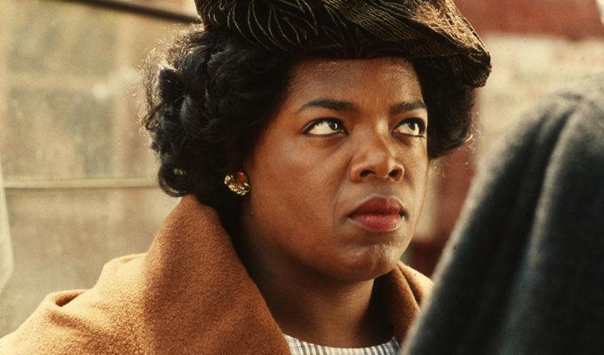 Oprah Winfrey on The Color Purple