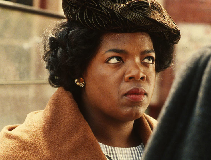 Oprah Winfrey on The Color Purple