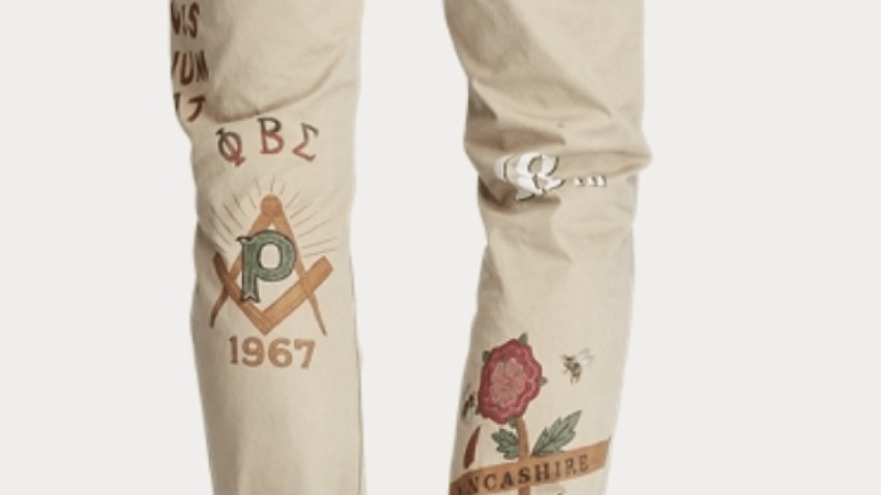 Ralph Lauren Phi Beta Sigma pants