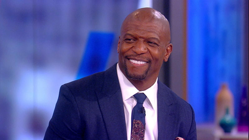 Terry Crews, appearing on the Today show, January 23, 2020.