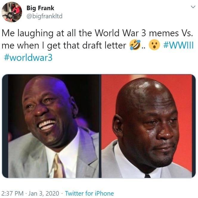 WW3 Meme, Jordan
