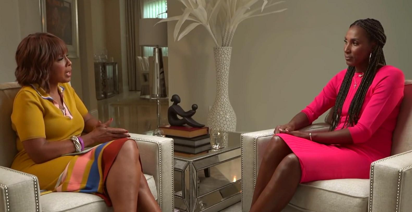 Gayle King interviews Lisa Leslie