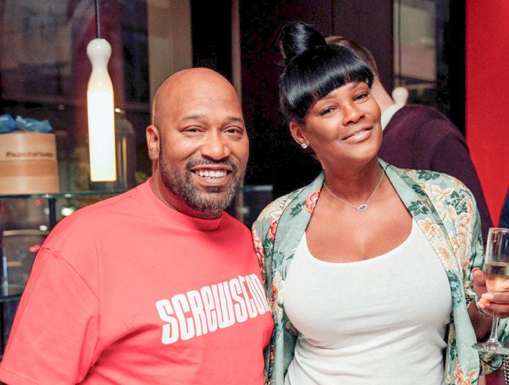 UGK's Bun B, with wife, Angela