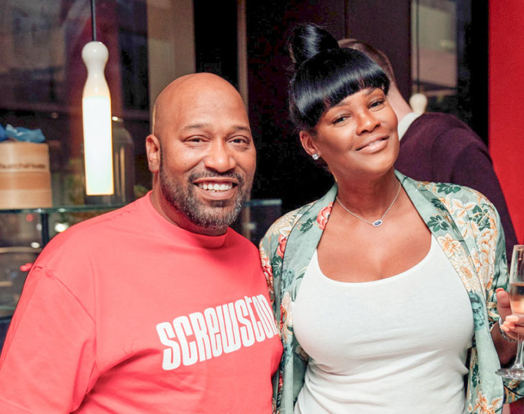 UGK's Bun B, with wife, Angela