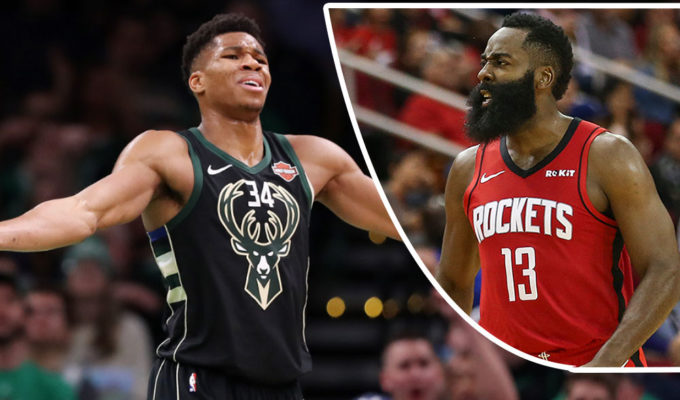 Giannis Antetokounmpo, James Harden
