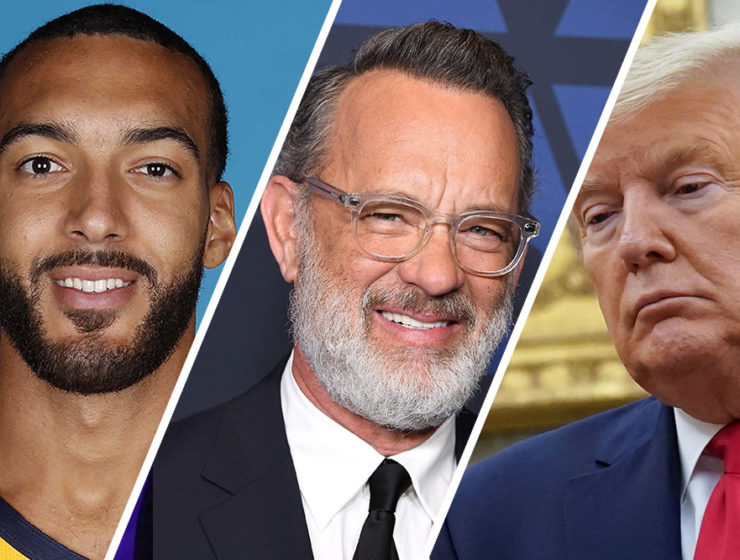 Gobert, Hanks, Trump