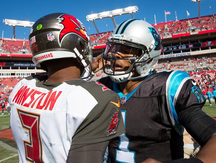 Jameis Winston, Cam Newton