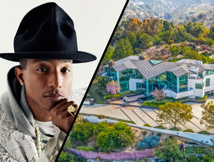 Pharrell Beverly Hills home
