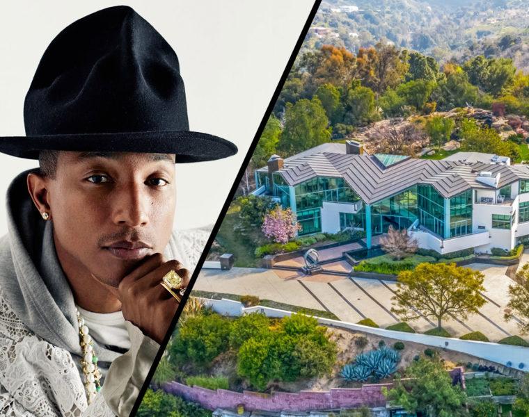 Pharrell Beverly Hills home