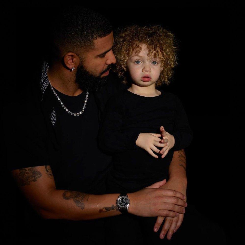 Drake's son, Adonis