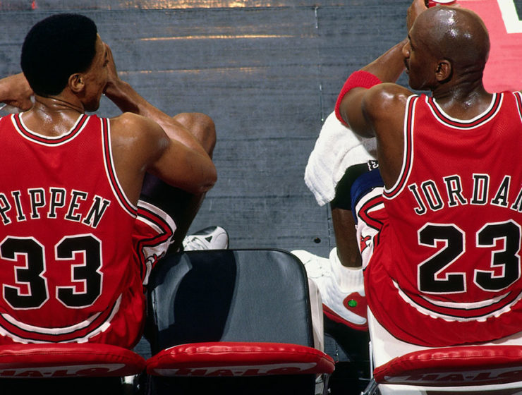 Pippen/Jordan