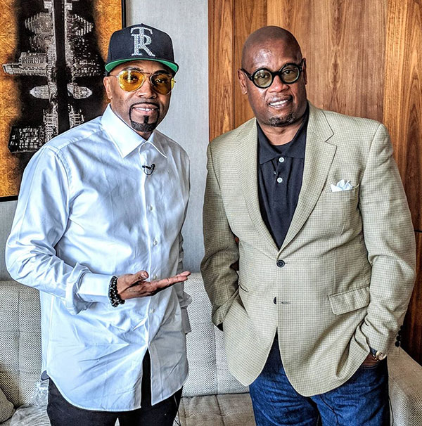 Teddy Riley, with Andre Harrell