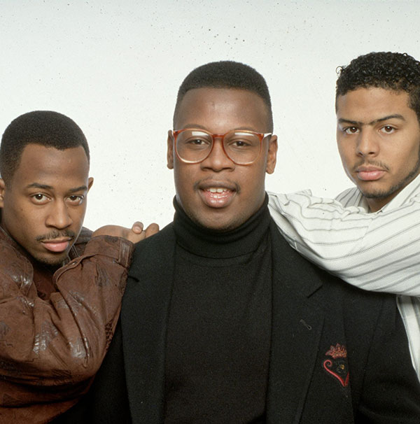 Martin Lawrence, Andre Harrell, Al B. Sure