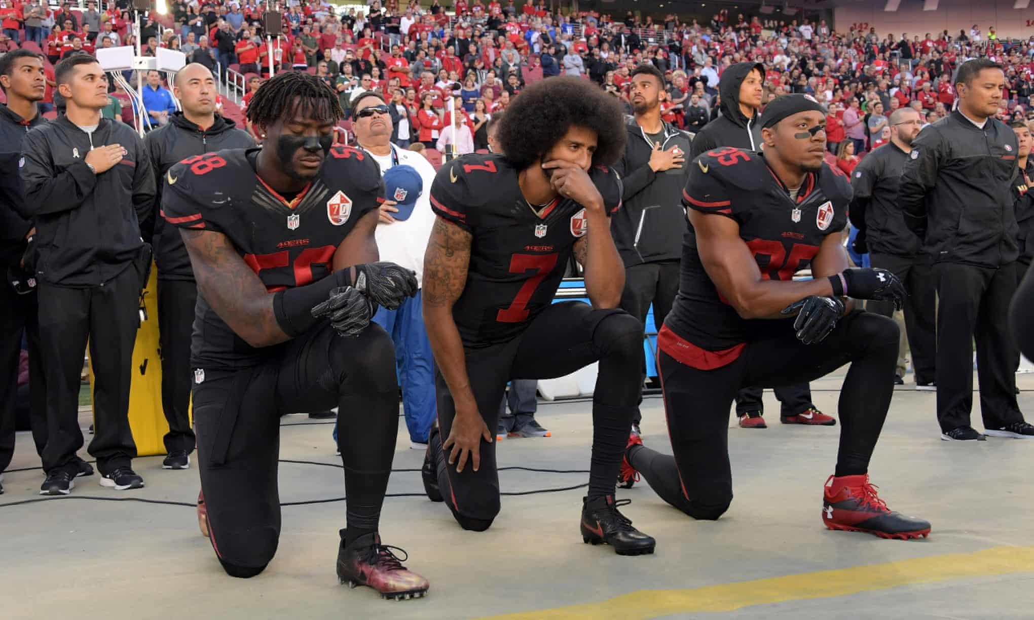 Colin Kaepernick protest