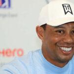 Tiger Woods shit eating grin