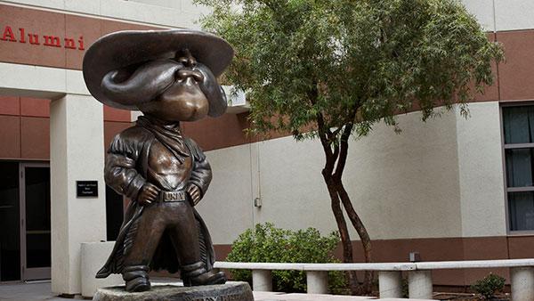 UNLV Hey Reb! statue