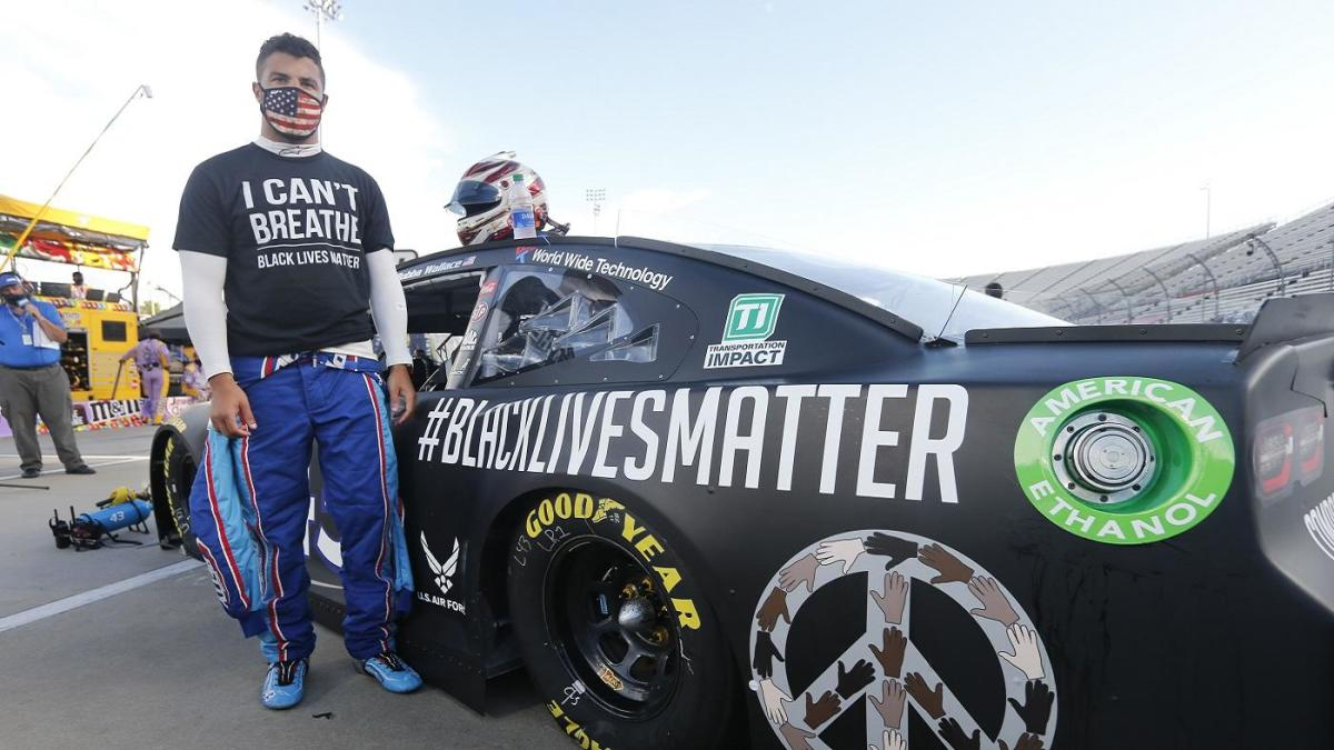 Bubba Wallace, BLM car