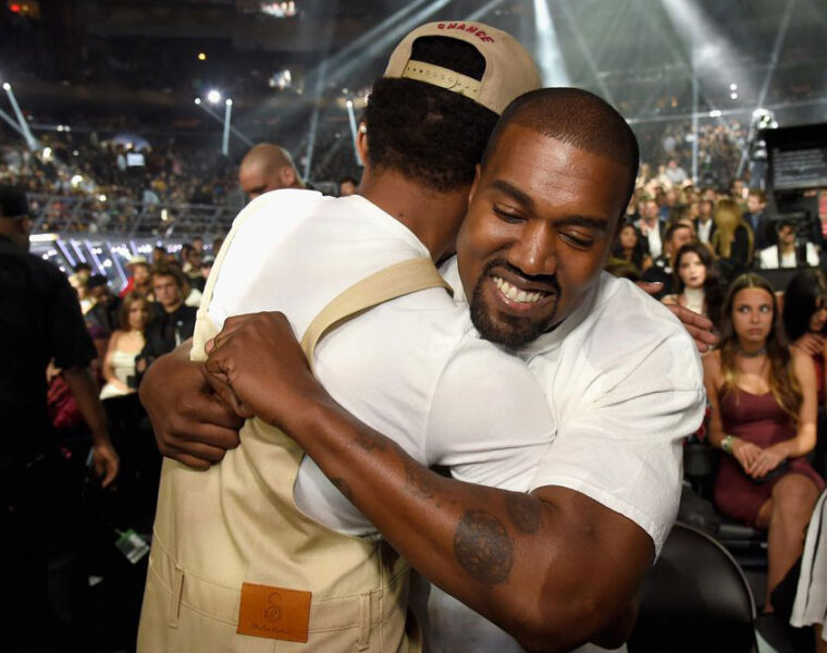 Chance the Rapper, Kanye West at 2016 MTV Video Music Awards