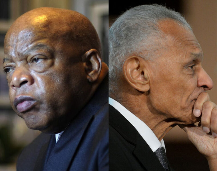 Congressman John Lewis and Reverend C.T. Vivian