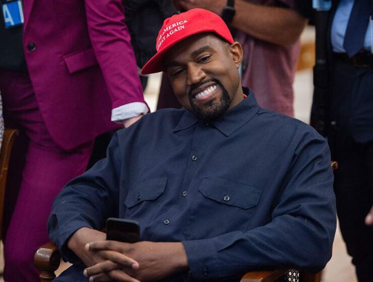 Kanye West at White House