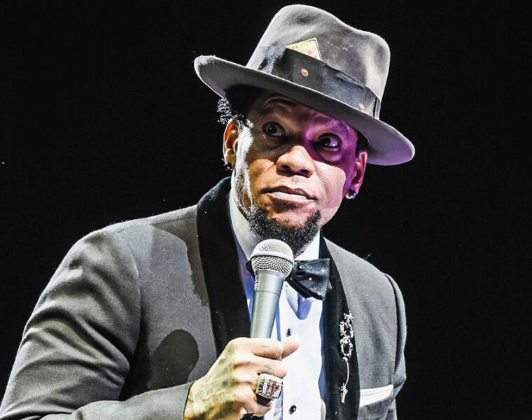 D.L. Hughley, at the Nashville Comedy Festival