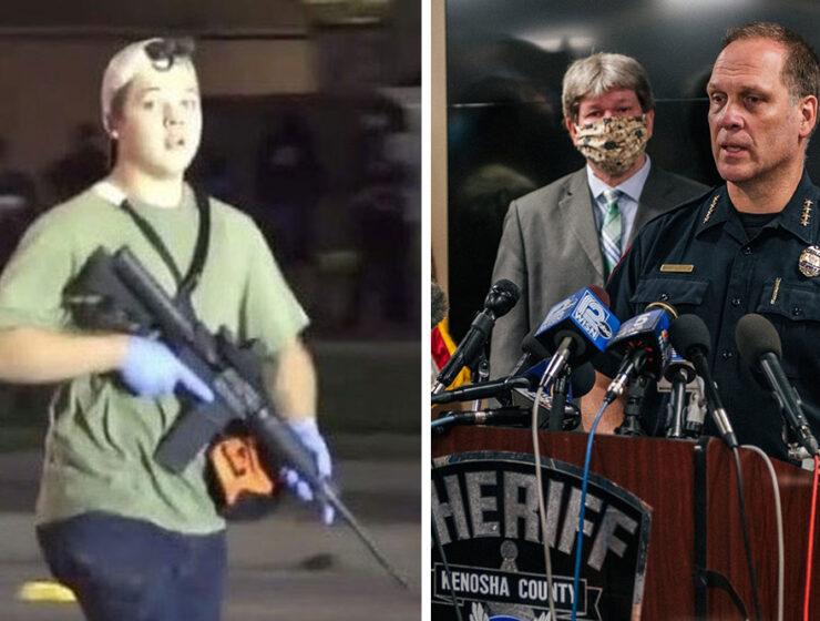 Kyle Rittenhouse, Kenosha Police Chief, Daniel Miskinis