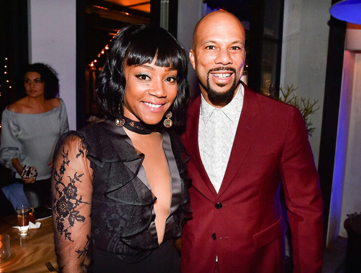 Tiffany Haddish with Common
