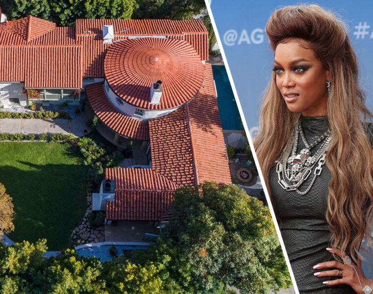 Tyra Banks' former Beverly Hills home