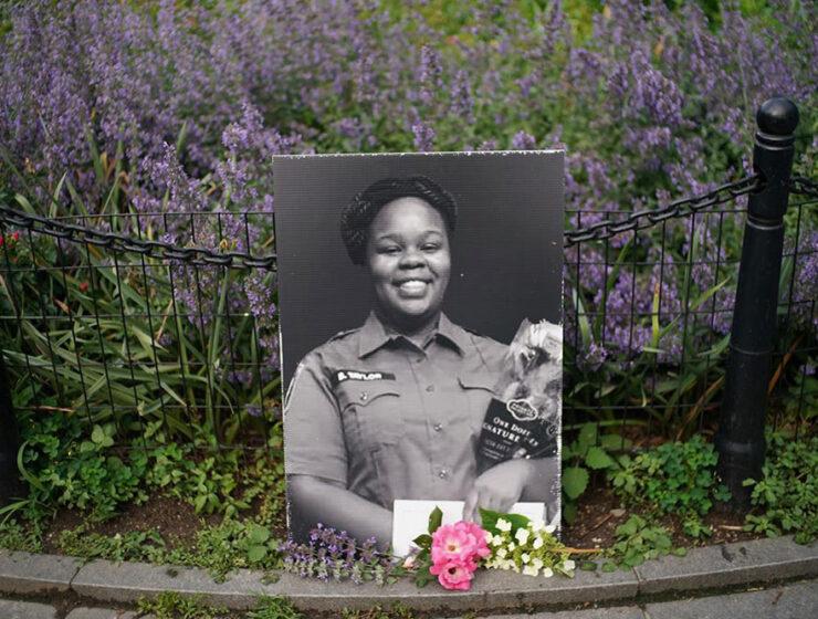 Breonna Taylor memorial
