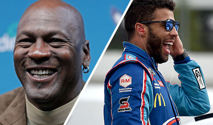 Michael Jordan, Bubba Wallace