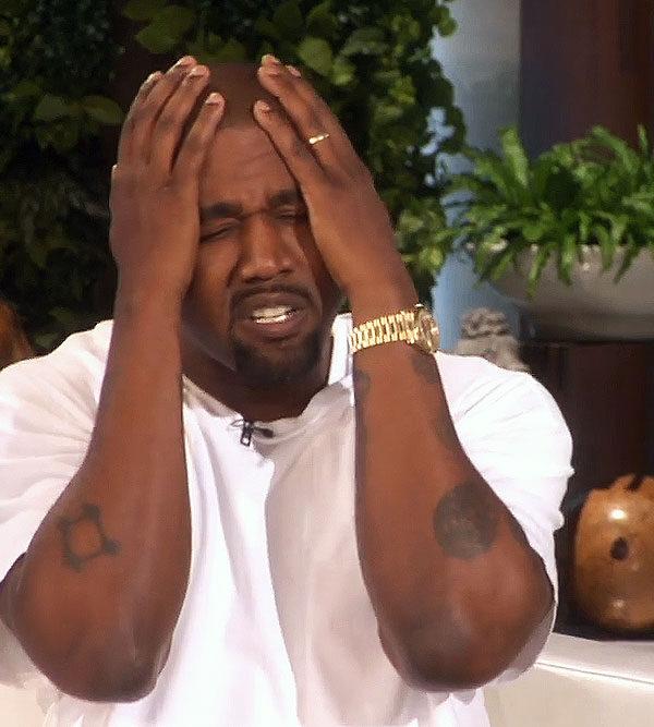 Kanye on The Ellen DeGeneres Show