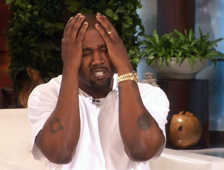 Kanye on The Ellen DeGeneres Show